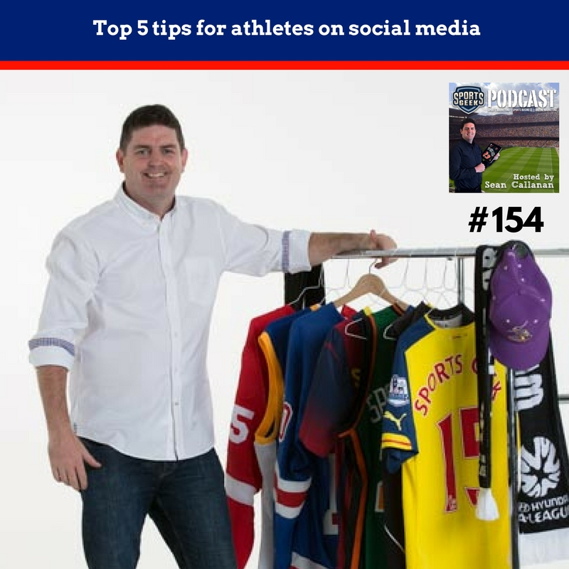 Top 5 tips for athletes on social media