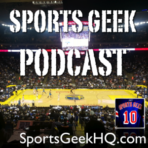 Sports Geek Podcast available on iTunes