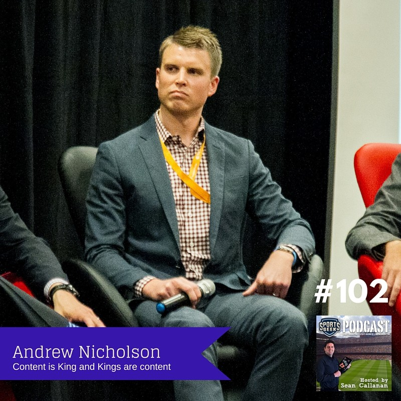 Andrew Nicholson from Sacramento Kings on Sports Geek Podcast