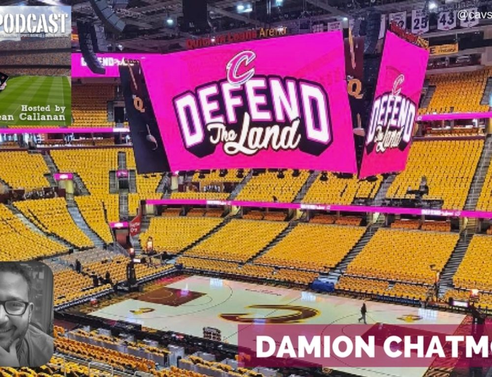 Emerging technology in sports with Cavaliers' Damion Chatmon
