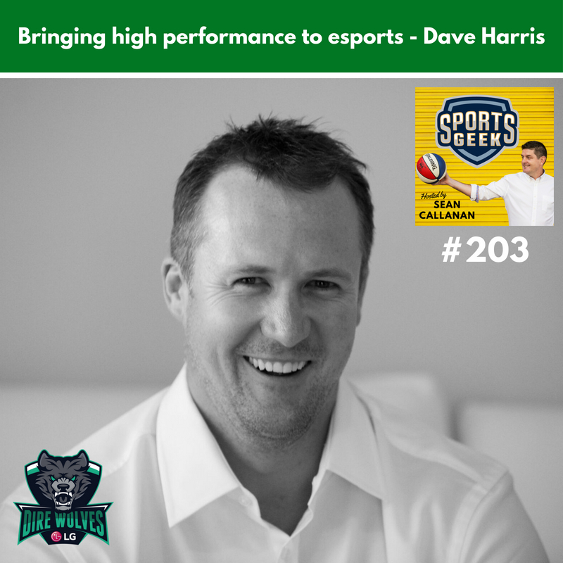 Learn more from Dave Harris on esports