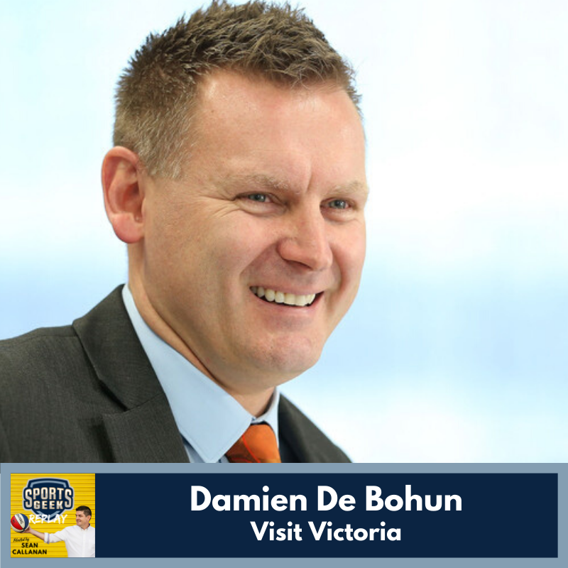 Learn more about major events from Visit Victoria's Damien de Bohun