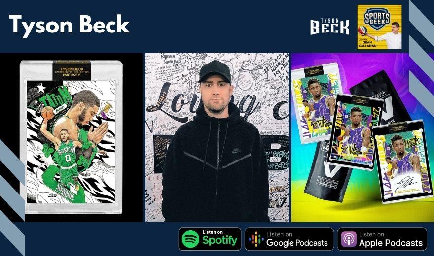 Tyson Beck on Sports Geek podcast